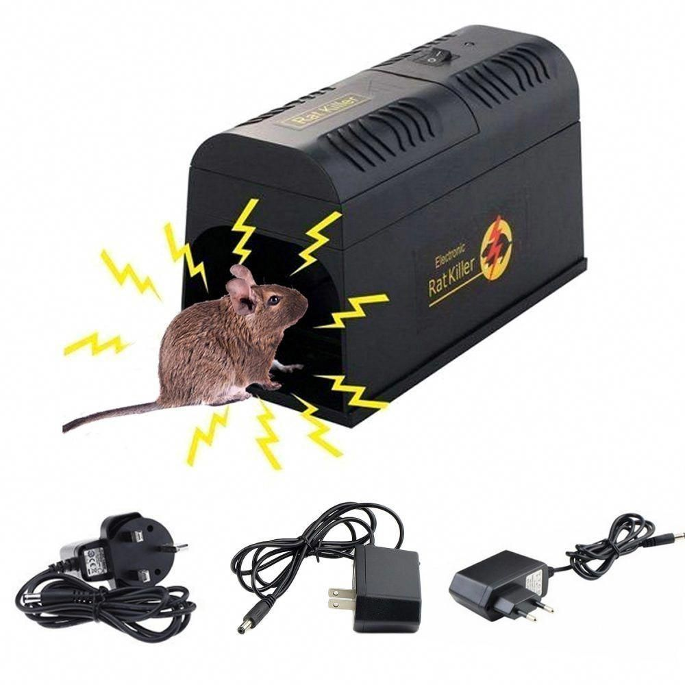 Shock Mousetrap Pest Control EU US UK Plug