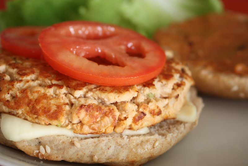 Hamburguesas de salm n receta pescados y mariscos pinterest recipes healthy recipes y - Ana cocina facil ...