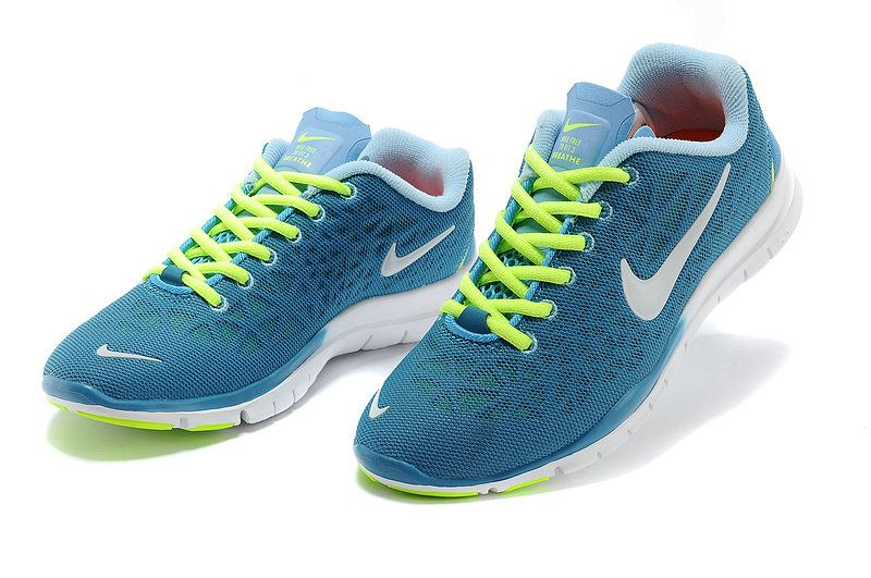 best deals on 1caeb 82f65 Nike Free TR Fit 3 Breathe Womens Chrome University Blue Volt White 579968  300 . nice