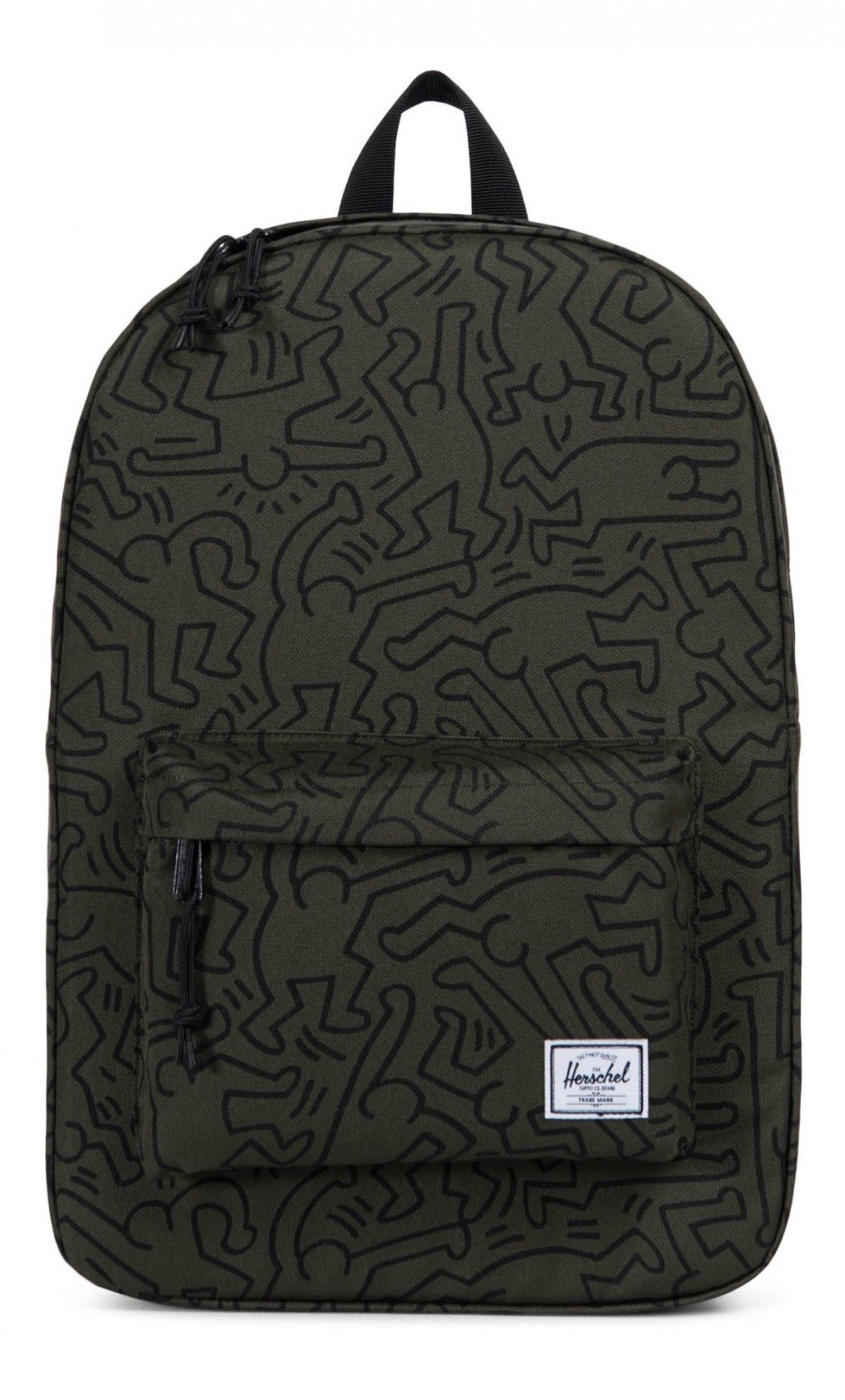 dfb578ef4c1 Herschel Winlaw Backpack 600D Poly Forest Night Keith Haring ...