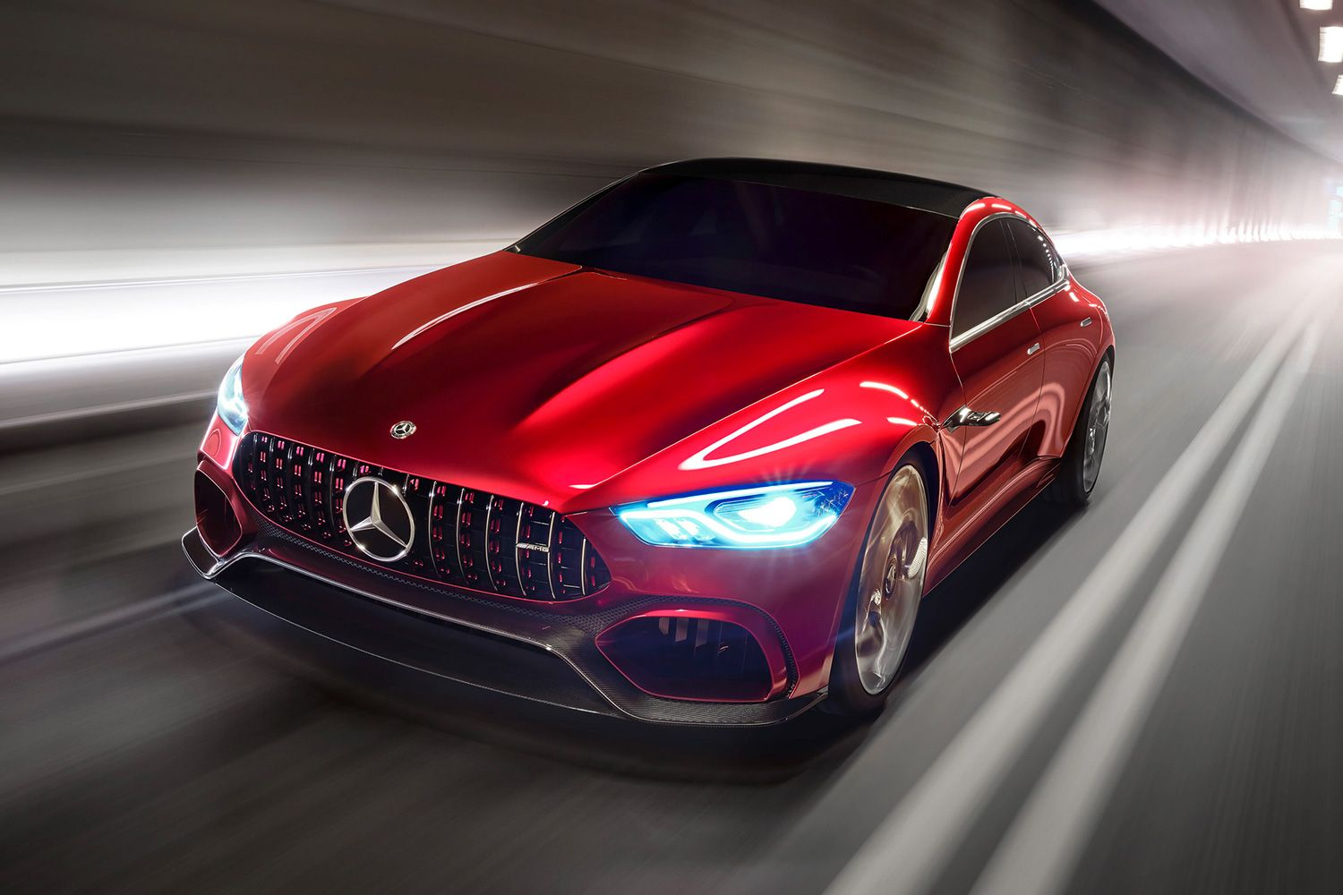 Mercedes Amg Introduces New 4 Door 805 Horsepower Gt Concept