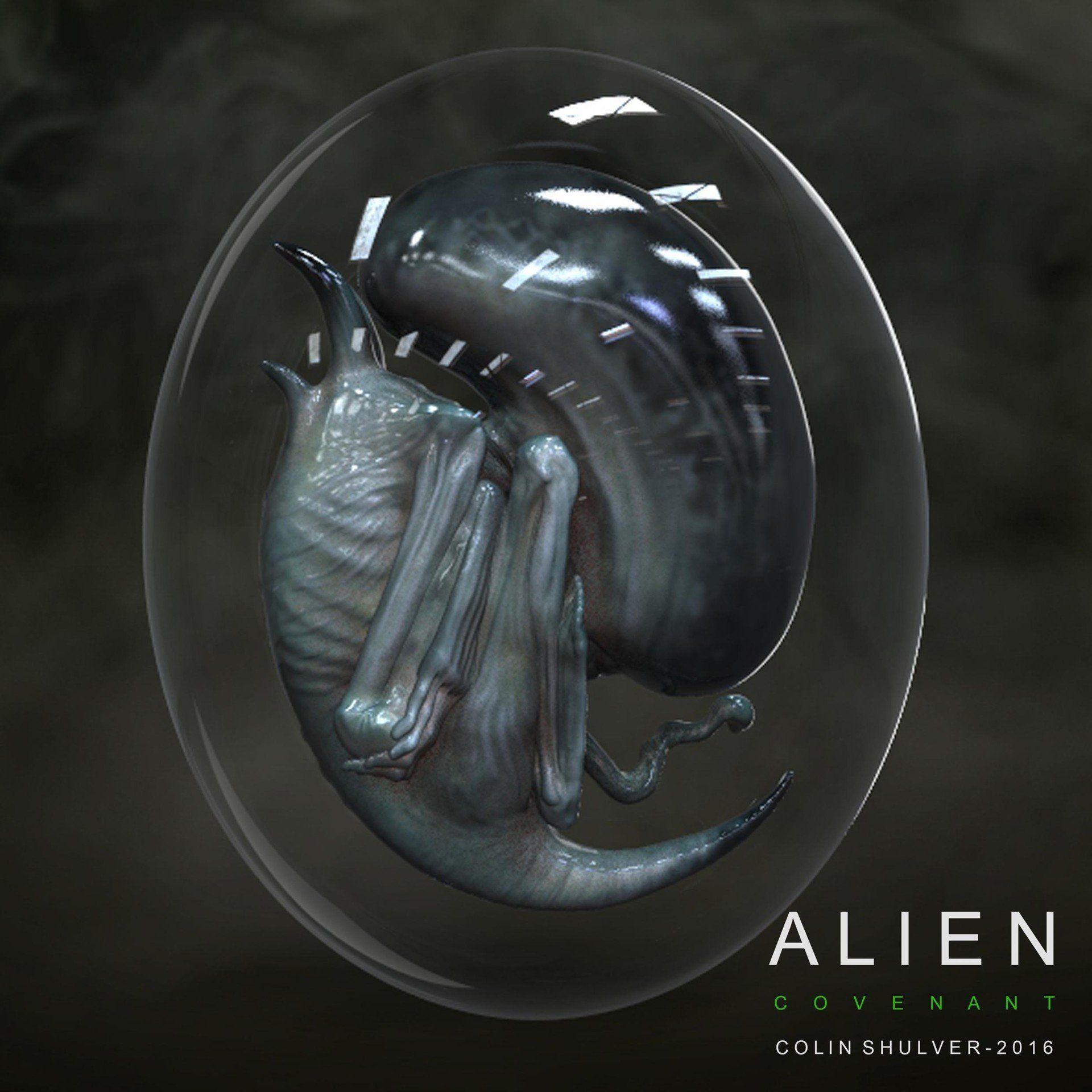 Alien: Covenant Protomorph Concept Art by Colin Shulver! - Alien: Covenant Movie News
