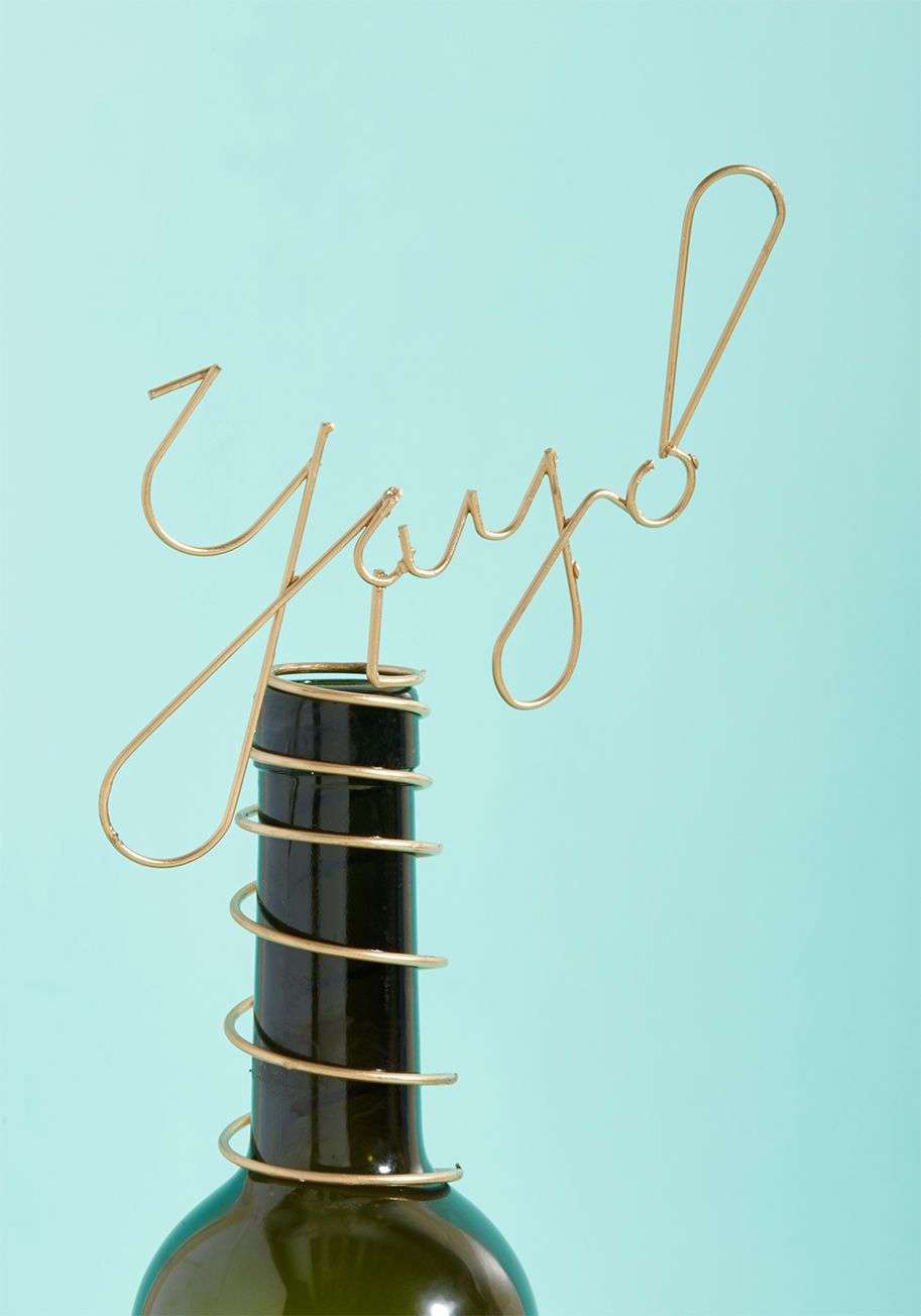 Celebratory Salut Bottle Topper | Spiral, Bottle and Decoration
