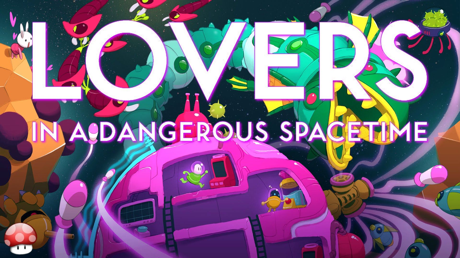 Lovers In A Dangerous Spacetime Pc Gameplay 60fps Youtube