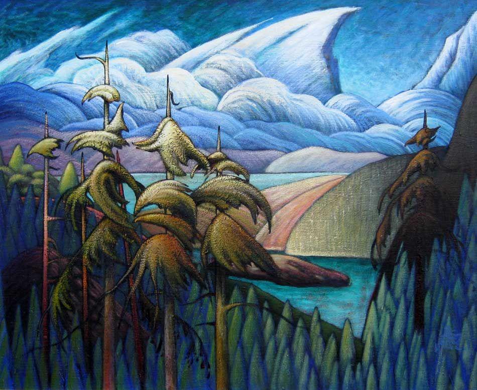 Great canadian artist james edward hergel 1961 canada