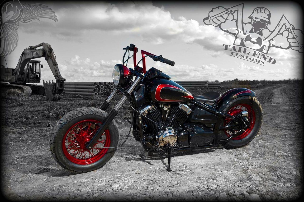 BikerMetric | Custom Honda Yamaha Metric Bobbers, Choppers, Cafe Racers:  Yamaha V