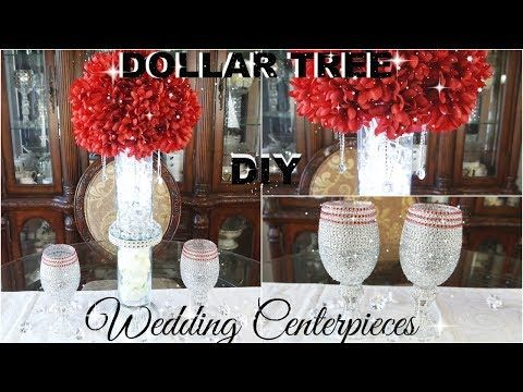 Dollar tree diy bling wedding centrepieces diy glam decor home dollar tree diy bling wedding centrepieces diy glam decor home decor ideas youtube junglespirit Images