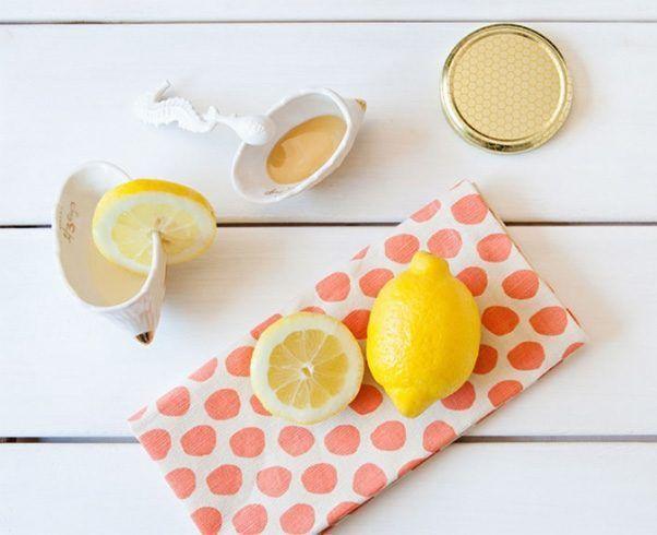 Honey and lemon   #Blackheads #Beauty