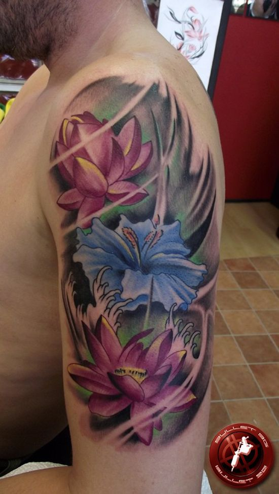 70 Elegant Lotus Tattoo Designs Tattoo Bouquet The Flora The
