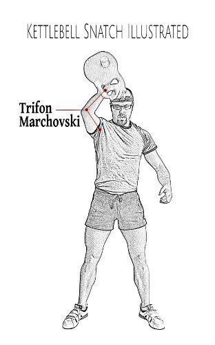 Kettlebell Snatch Illustrated by Trifon Marchovski, http://www.amazon.ca/dp/B00K7IX8R2/ref=cm_sw_r_pi_dp_gNnBtb12DJQ6Z
