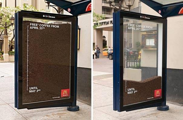 10 Iklan Kreatif Yang Dipasang Di Halte Bus Ini Bisa Bisa Bikin