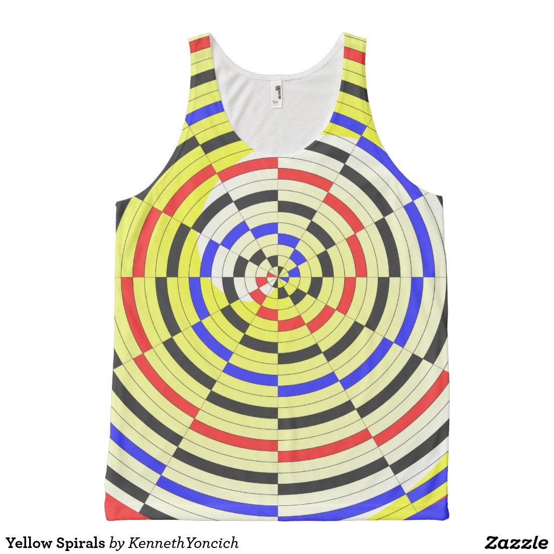 Yellow Spirals