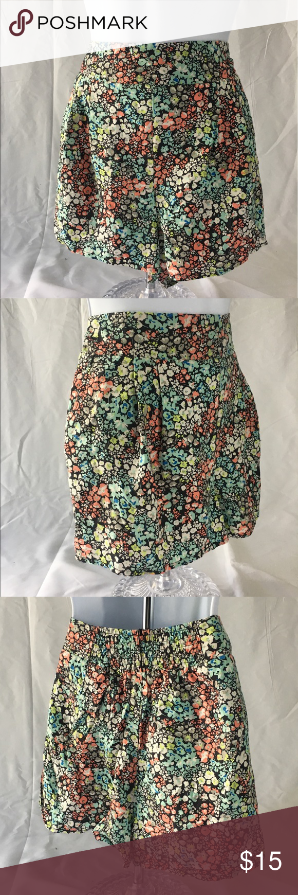 Floral Mini Skirt Red and cream Mini Skirt. Worn once