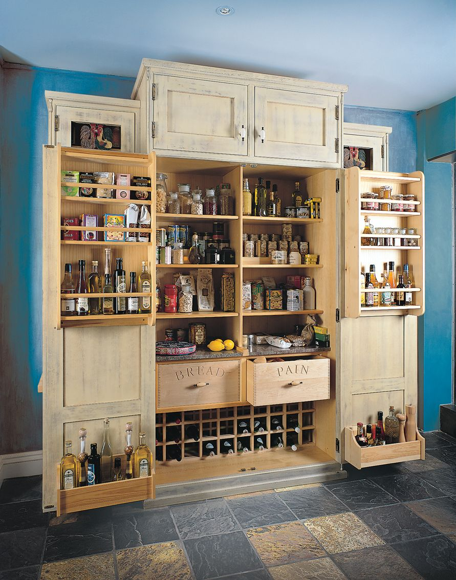 A well stocked Mark Wilkinson Furniture larder is a must over the festive period.