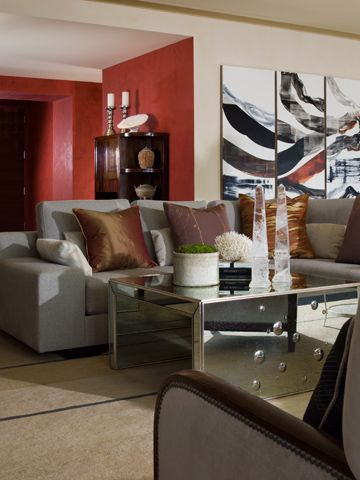 This Luxury Apartment Melds African American And Asian