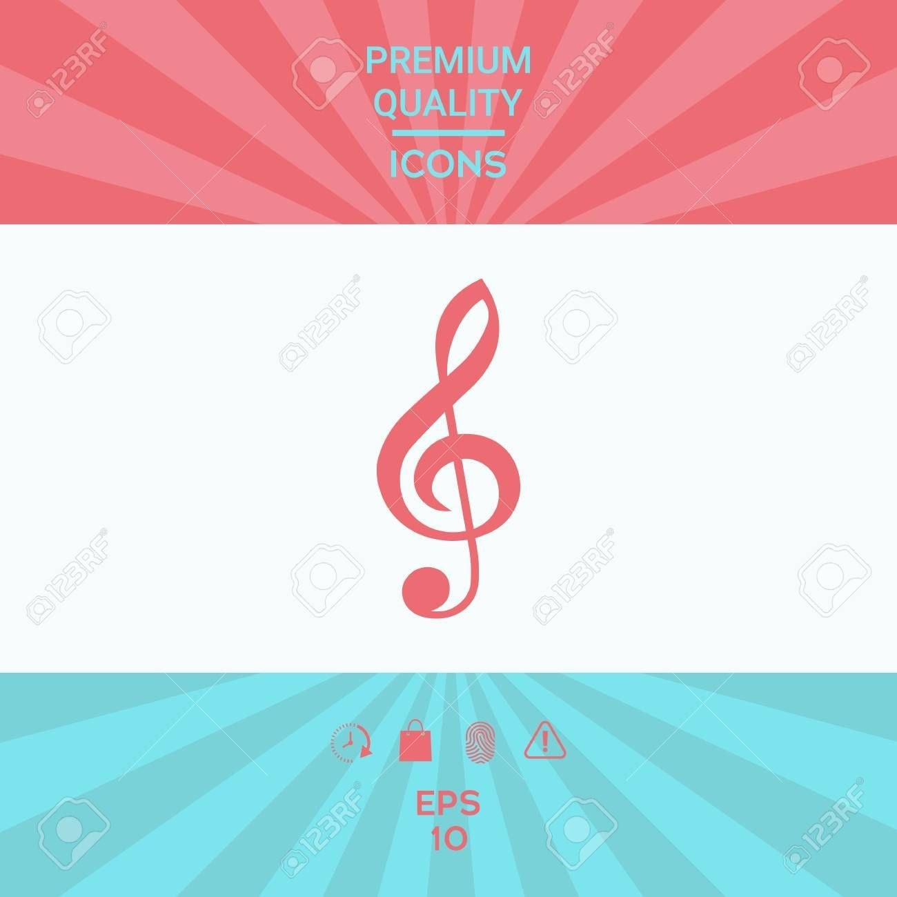 Treble clef icon . Signs and symbols - graphic elements for your design Illustration , #Ad, #icon, #Signs, #Treble, #clef, #symbols #trebleclef Treble clef icon . Signs and symbols - graphic elements for your design Illustration , #Ad, #icon, #Signs, #Treble, #clef, #symbols #trebleclef