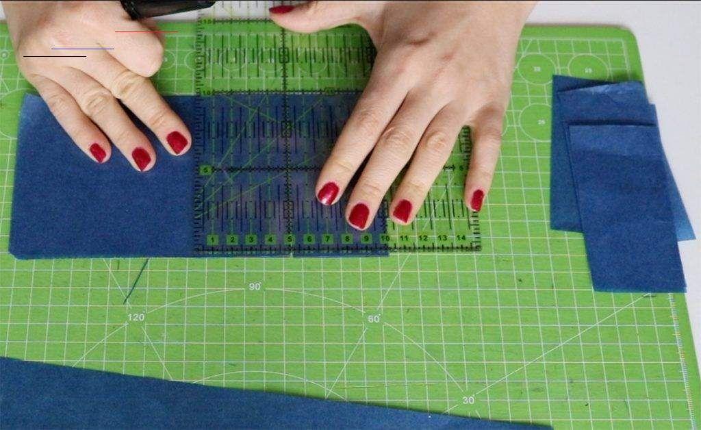 anleitung  sterne aus transparentpapier basteln mit