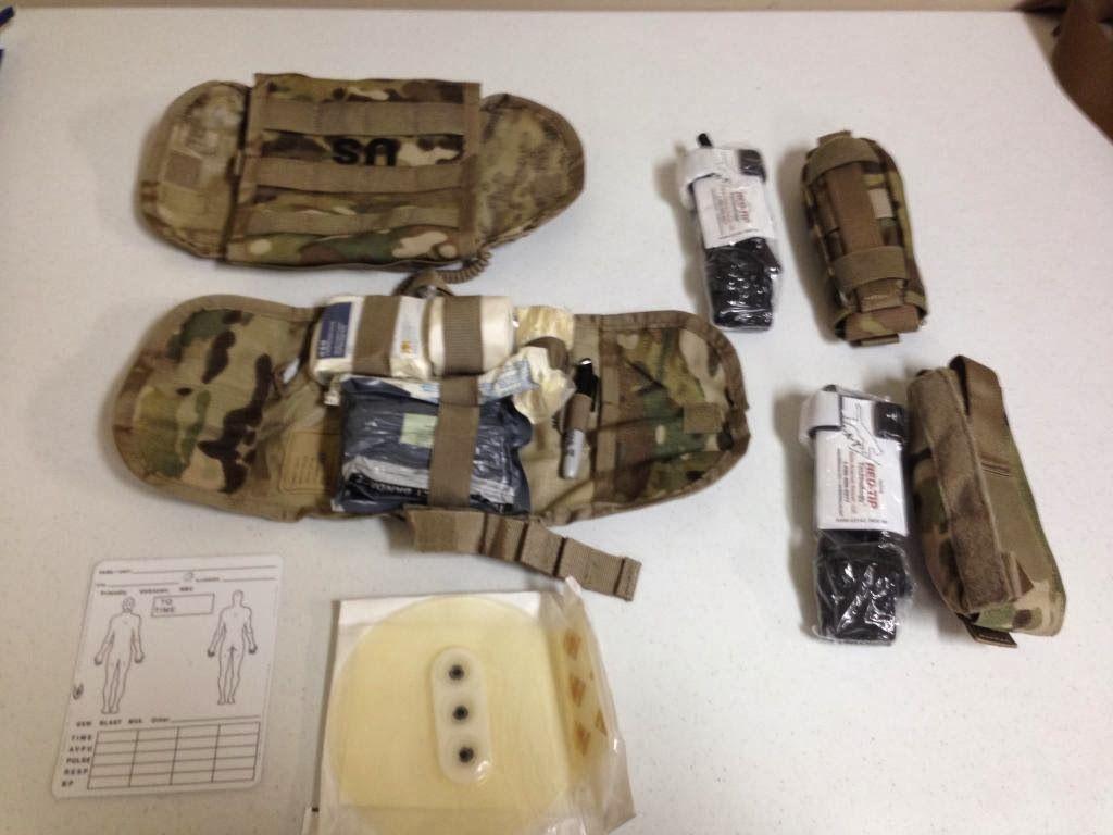 webbingbabel: US Army IFAK 2   IFAK and medical gear   Army