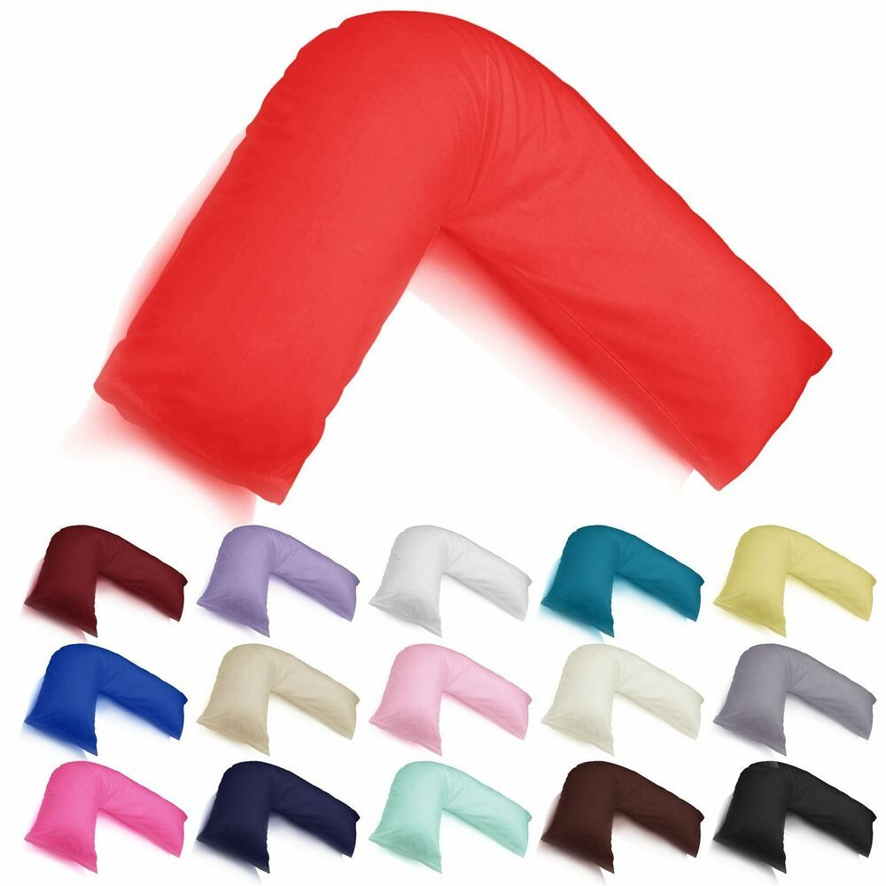V-SHAPED PILLOW AND COVER ORTHOPAEDIC MATERNITY PREGNANCY NURSING BABY SUPPORT