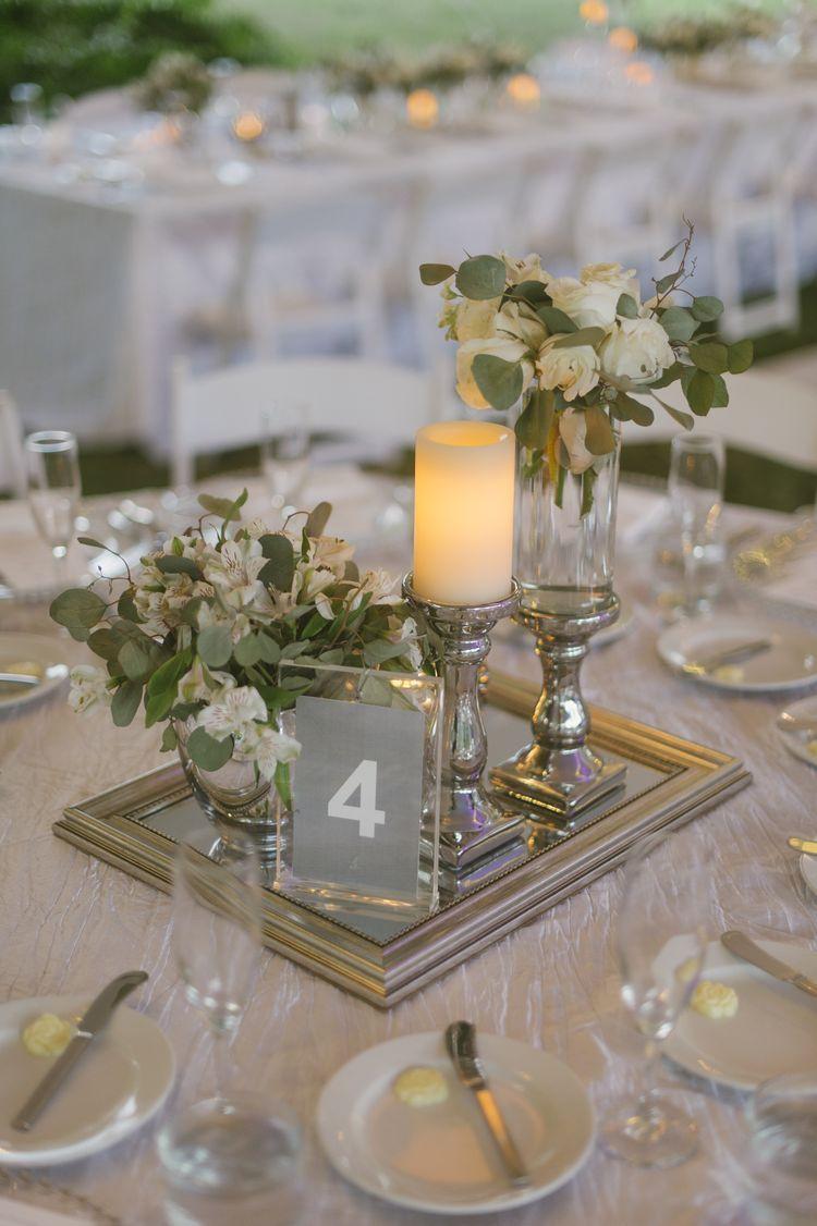 Magical Destination Wedding In Vieques Wedding Centerpieces