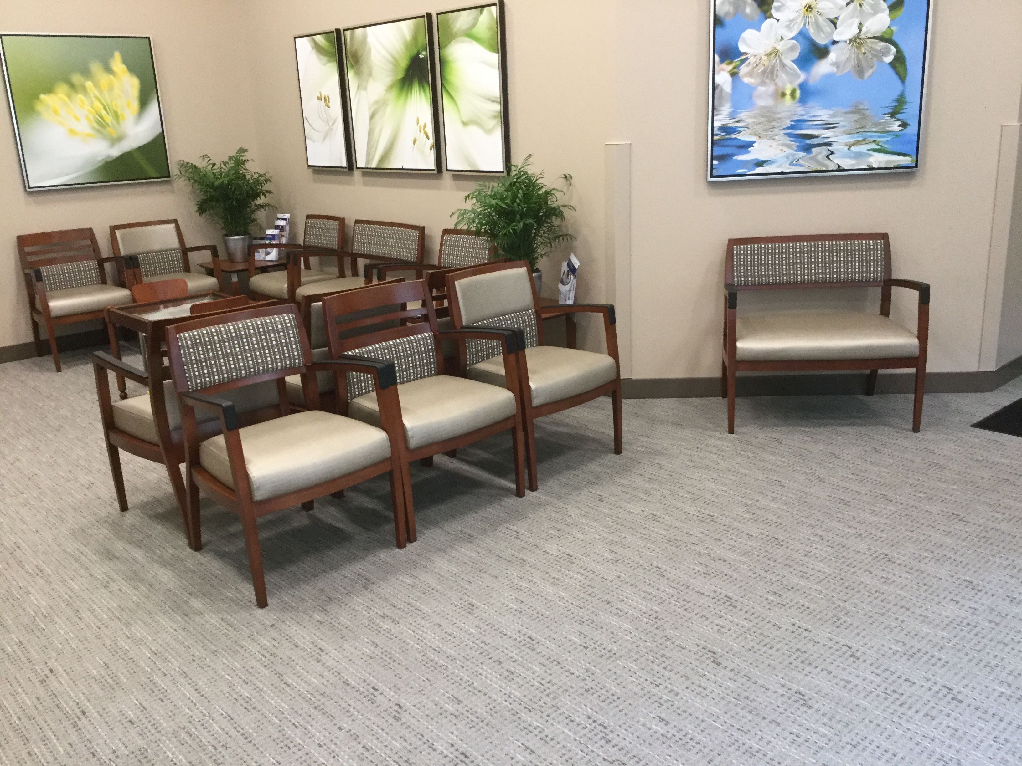 ssm healthcare st louis mo acquaint seating in lobby