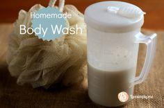 Homemade Body Wash
