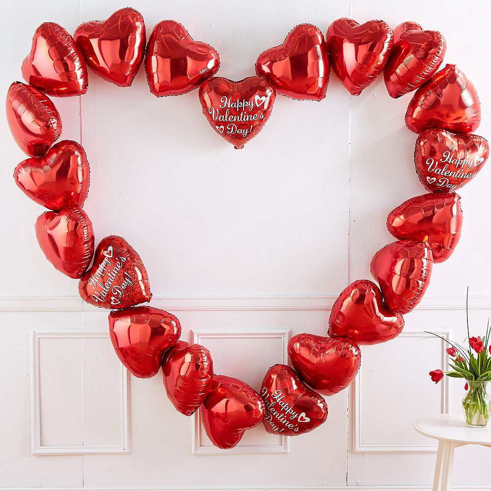 Valentine's Day Balloon Heart Kit Party City Canada in