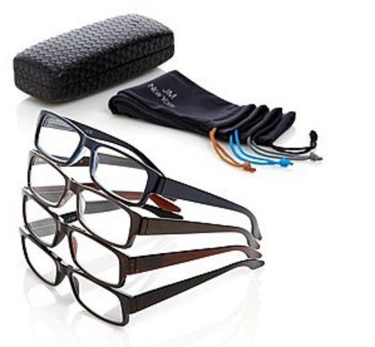 a0adbca627 HSN Joy Mangano 9pc Men s Deluxe Reading Glasses Set New Various Strengths  Avail Reading has never been so simple!!