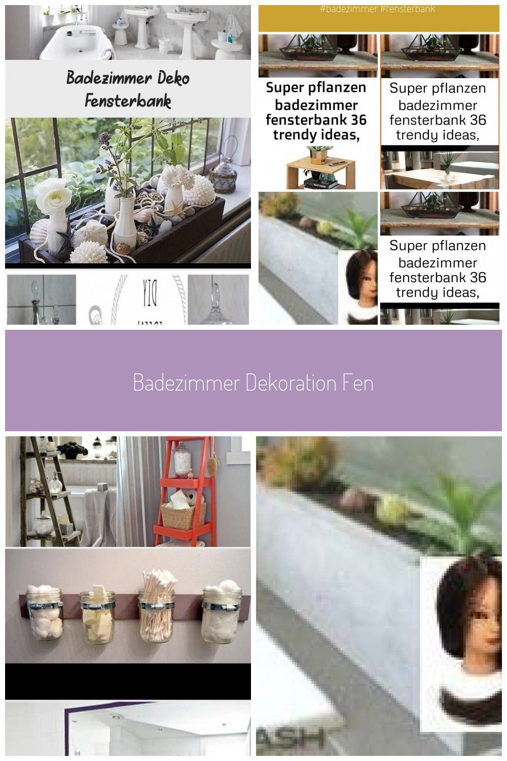 Photo of Badezimmer Dekoration Fensterbank,  #Badezimmer #dekoration #Fensterbank #fenste…