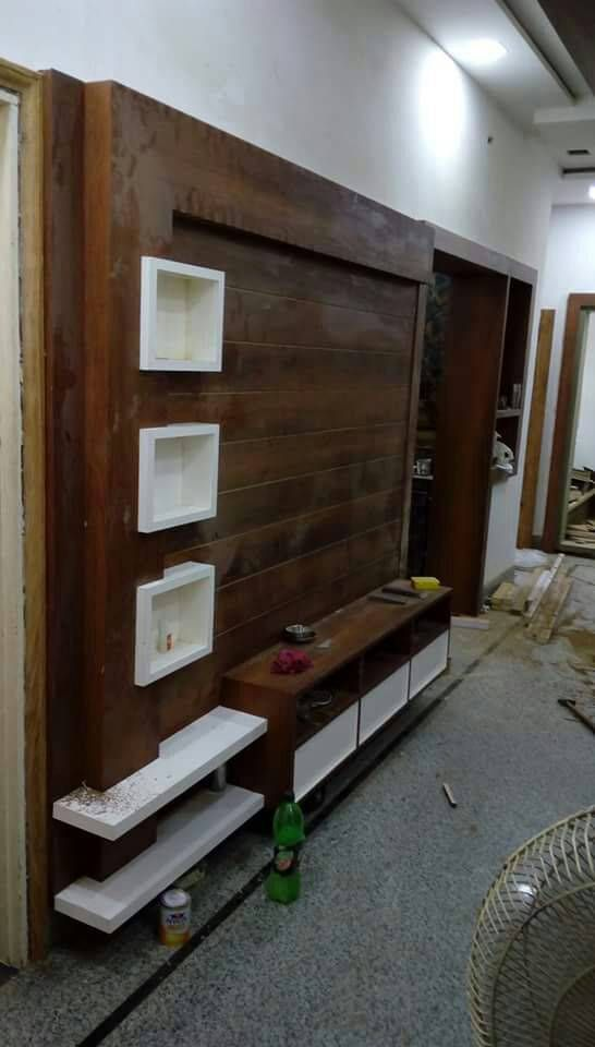 Pin By Amandeep On Wall Unit 1 In 2021 Tv Room Design Modern Tv Wall Units Tv Unit Furniture Design