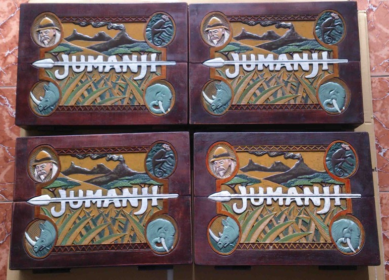 How To Buy 100 Exact Jumanji Board Game Prop Replica