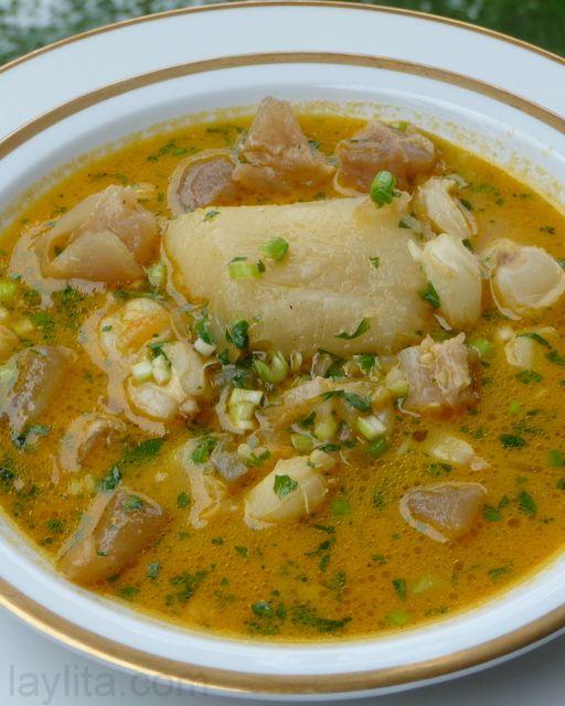 Caldo De Pata Recipe Or Cow Feet Soup Recipe Pata Recipe Recipes Cooking Recipes