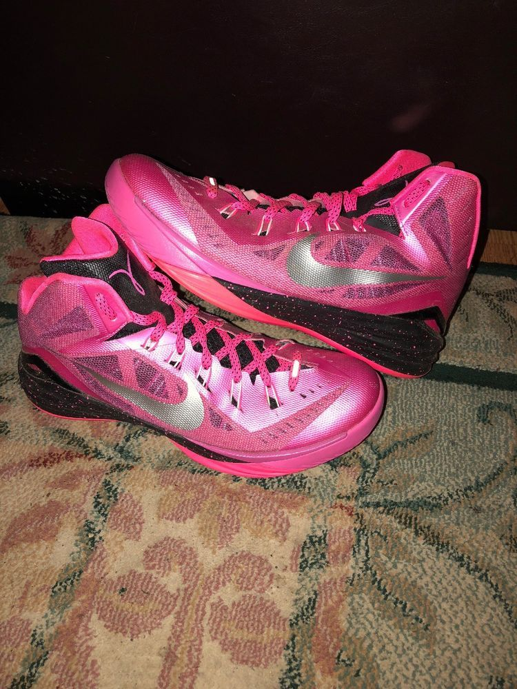 new styles 0ee46 ff815 Nike Hyperdunk 2014 BCA Think Pink Size 11  fashion  clothing  shoes   accessories  mensshoes  athleticshoes (ebay link)