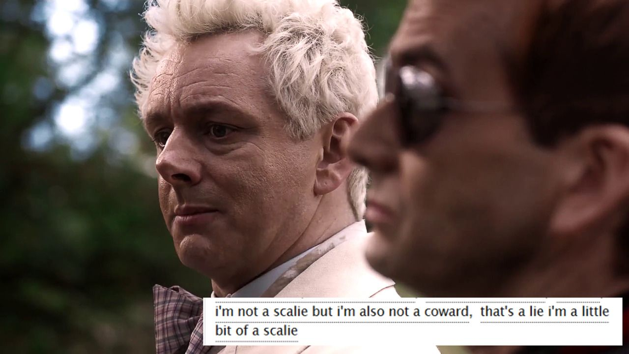 stop making noises! (Good Omens + AO3 tags) | Good Omens