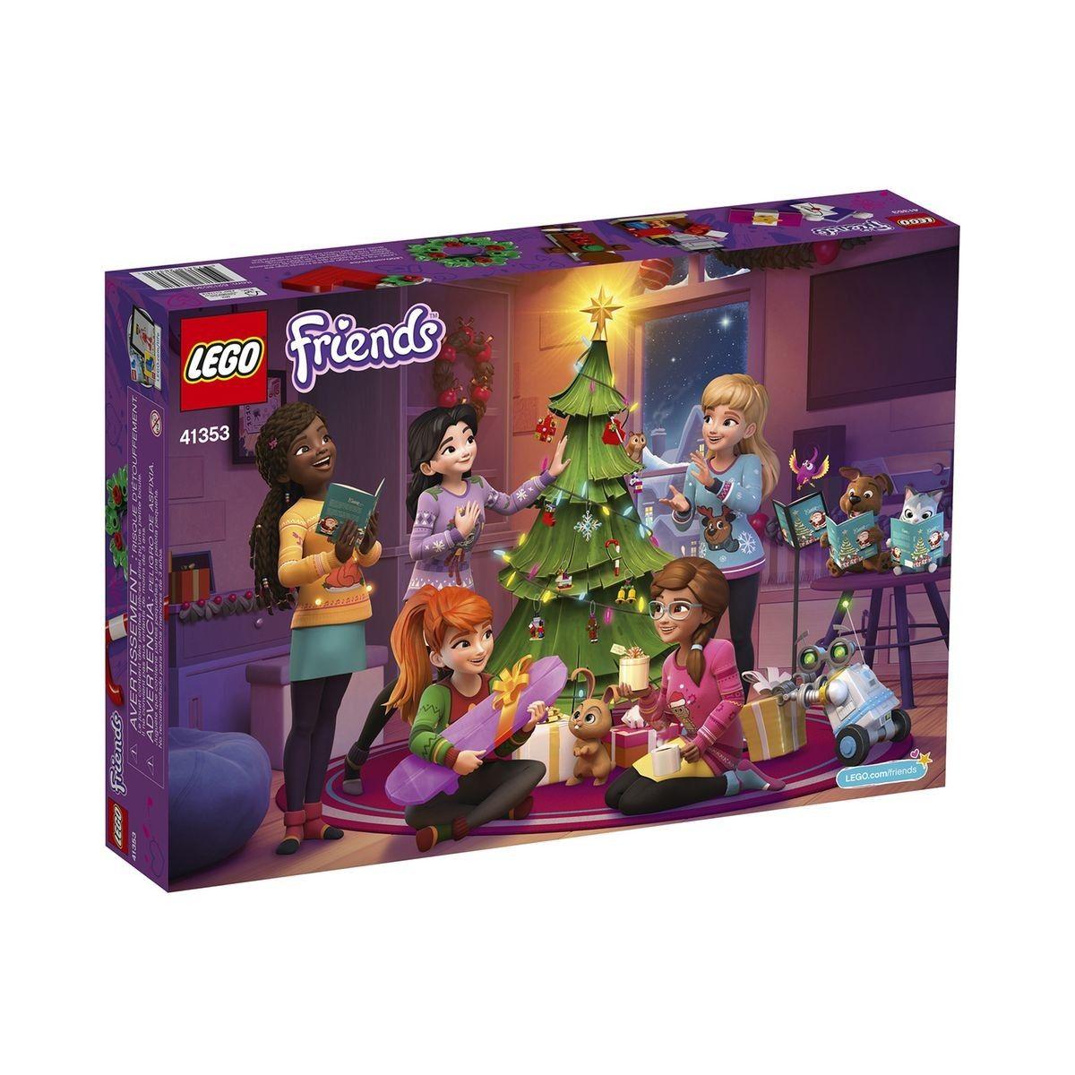 Lego Calendrier.Le Calendrier De L Avent Lego Friends 41353 Taille
