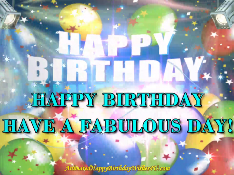 Free Download Fabulous Day Hbday Wishes Animated Happy Birthday Wishes Happy Birthday Sister Quotes Happy Birthday Video