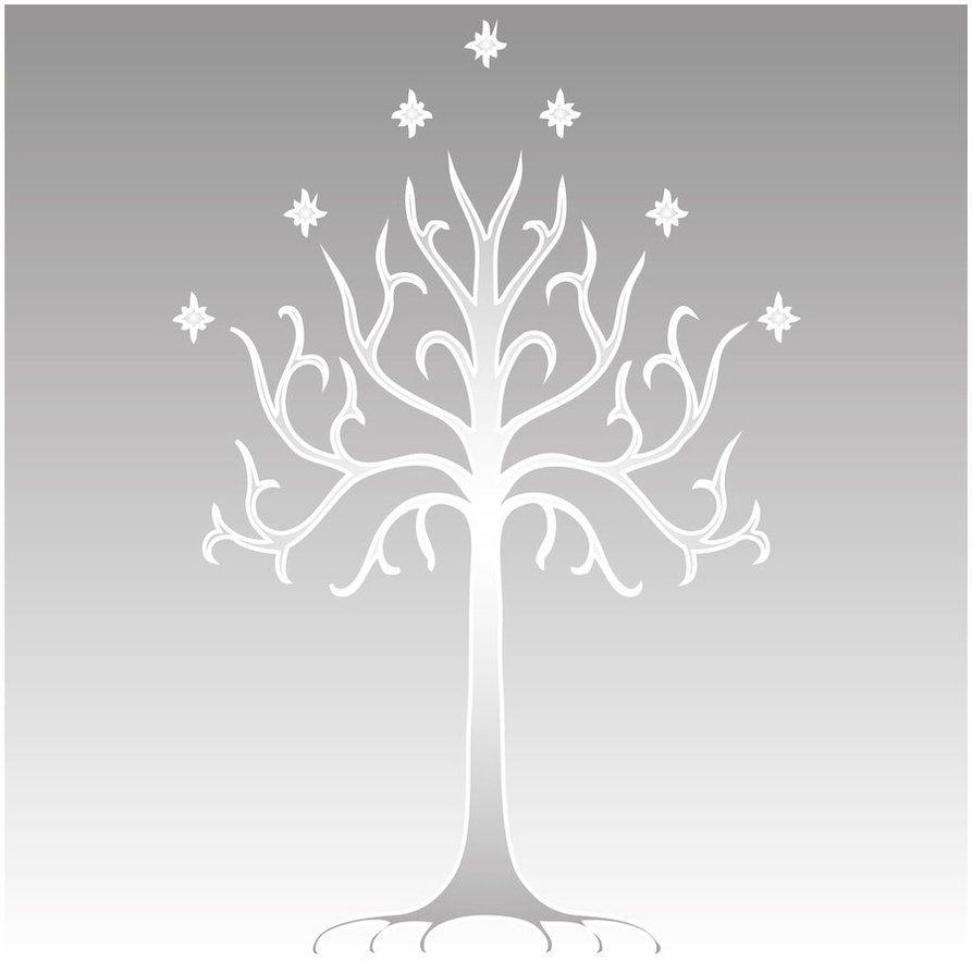 White Tree Of Gondor El Senor De Los Anillos Tatuajes Boda