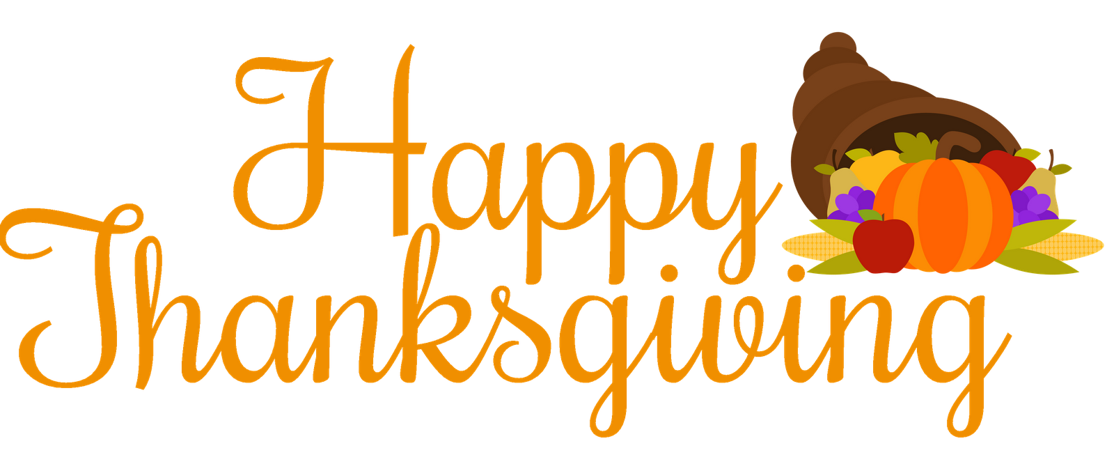 Thanksgiving Clip Art 4 With Images Happy Thanksgiving Clipart
