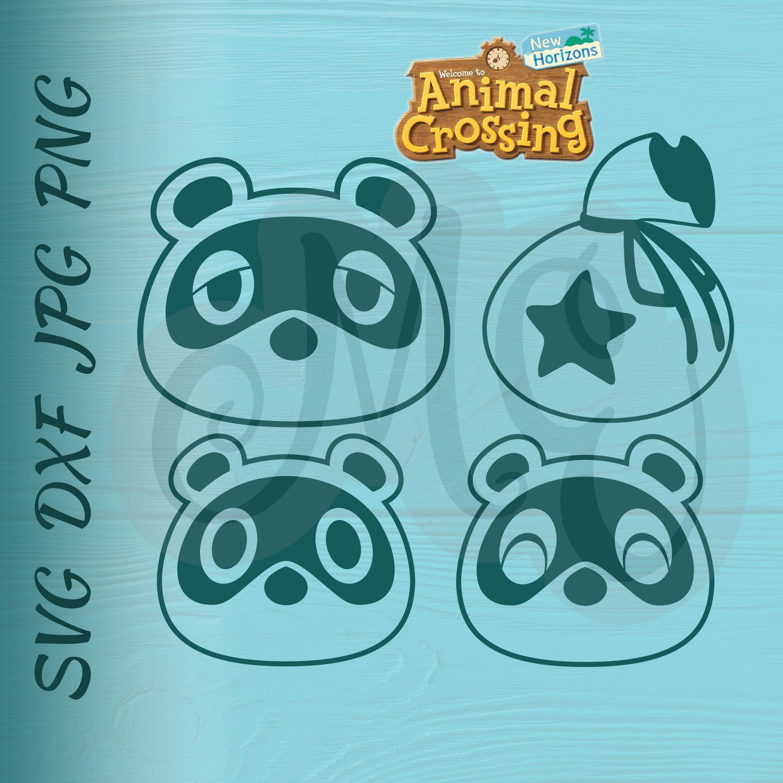 Pin By Ashley Turner On Cricut Animal Crossing Tom Nook Cricut Animals Animal Crossing