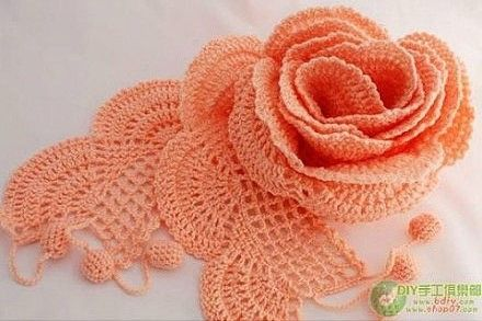 Ergahandmade Crochet Flower Diagram Bloemen Pinterest