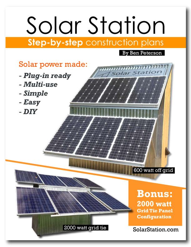 Solarstation Com Solar Power Made Easy Complete Fun Diy Plans Available Crowdfunding Is A Democratic Way To Support T Solar Solar Power Roof Solar Panel