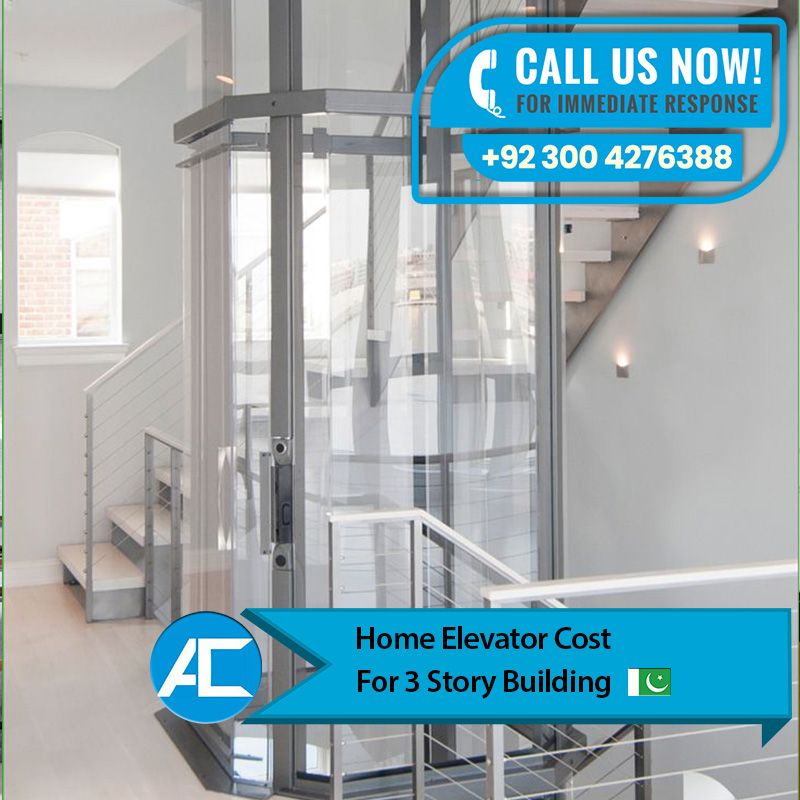 Home Elevator Cost For 3 Story Building House Elevation Story House Elevation