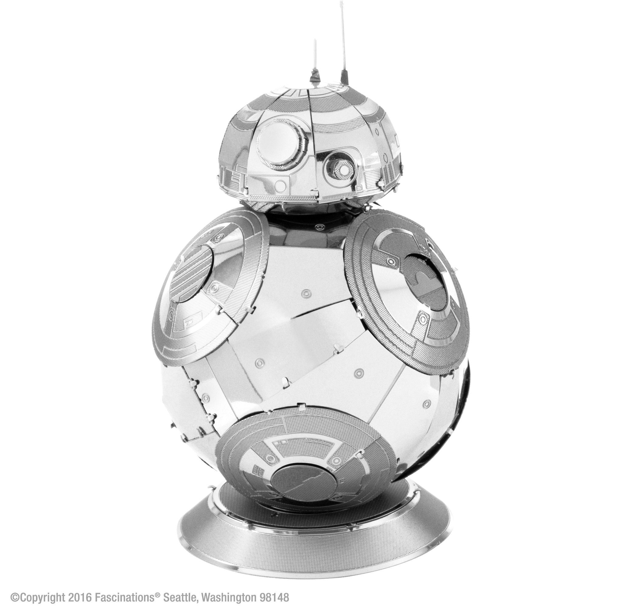 Metal earth 3d laser cut model kit star wars bb 8 solutioingenieria