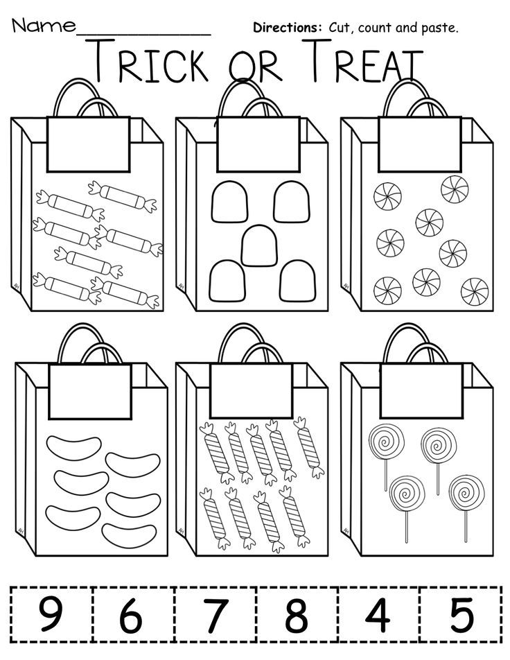 use real bags, have students sort real candy/objects and