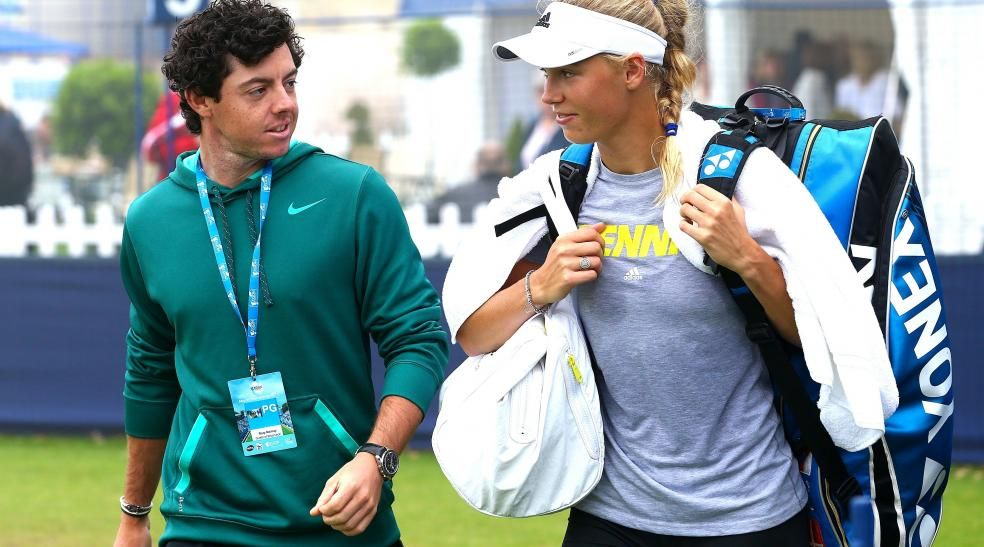 Rory Mcilroy Responds To Report He Broke Up With Caroline Wozniacki Rory Mcilroy Caroline Wozniacki Rory Mcilroy Caroline Wozniacki
