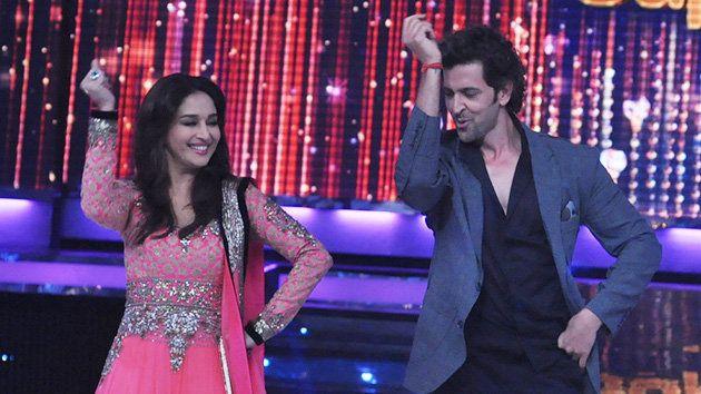 Hrithik Dances With Madhuri On Jhalak Dikhhla Jaa Bollywood