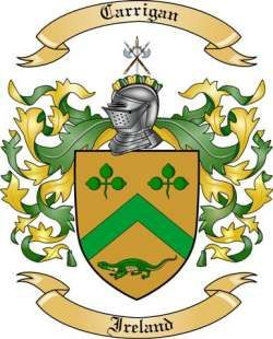 Carrigan Family Crest from Ireland | Gift Ideas to Make