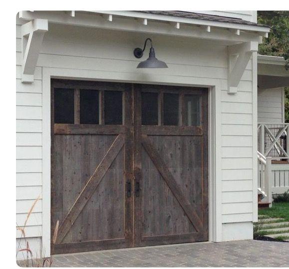 Beautiful Garage Door ... Detail ... Wood ... Windows