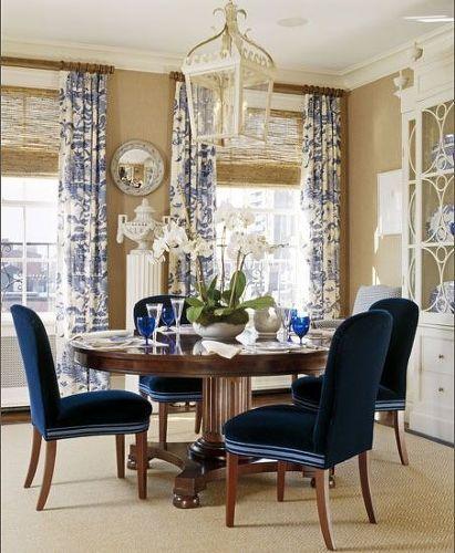 How To Modernize An Antique Dining Room Set A Blue White World