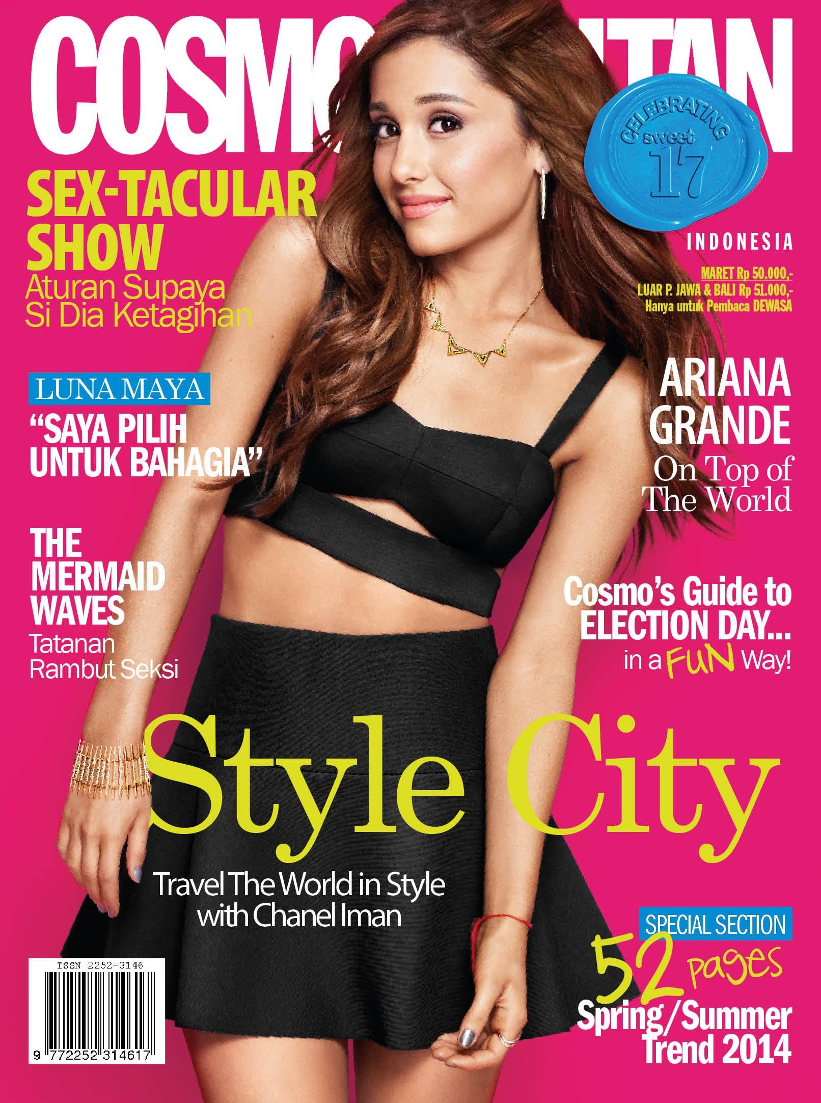 Young, beautiful and talented, that's why we choose Ariana Grande as our March 2014 fun fearless cover girl!
